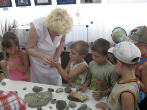 близкое знакомство с обитателями древнего моря
