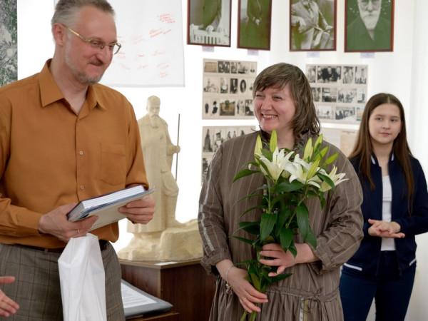 Виталий Скобеев со своей супругой Галиной Орловой