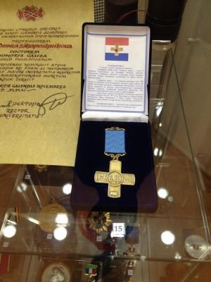 """Памятный знак """"Самарский крест"""""""
